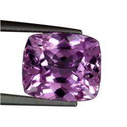 Flawless 14.61cts Natural Cushion Cut Pink Patroke Kunzite Gemstone