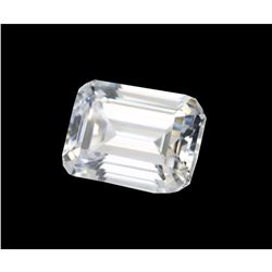 Emerald Step-cut Bianco Diamond 6aaa Loose Stone 10x8mm