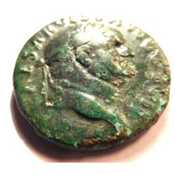 Bronze As of Vespasian; 76 AD.