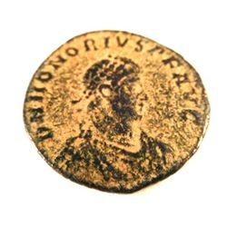Bronze Coin of Honorius (393-423 A.D.)