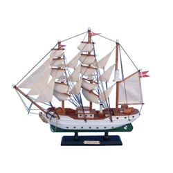 Wooden Danmark Tall Model Ship 14""
