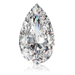 9 ct Pear Bianco Diamond 6aaa Loose Stones 16x12mm