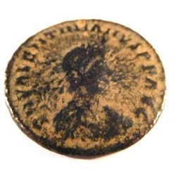 Bronze Coin of Valentinian I (364-375 A.D.)