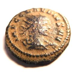 Bronze coin of Claudius II (253-268 A.D.)