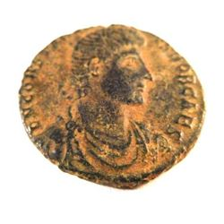 Bronze Coin of Constantius Gallus (351-354 A.D.)