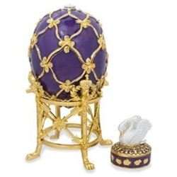 1906 The Swan Faberge-Inspired Egg