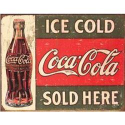 COKE - c.1916 Ice Cold