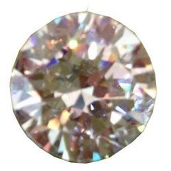 10 Carat Bianco White Diamond Brilliant Cut 14 Mm