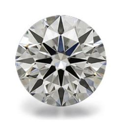 Bianco Diamond Round Hearts & Arrows 6A Loose Stone 15mm
