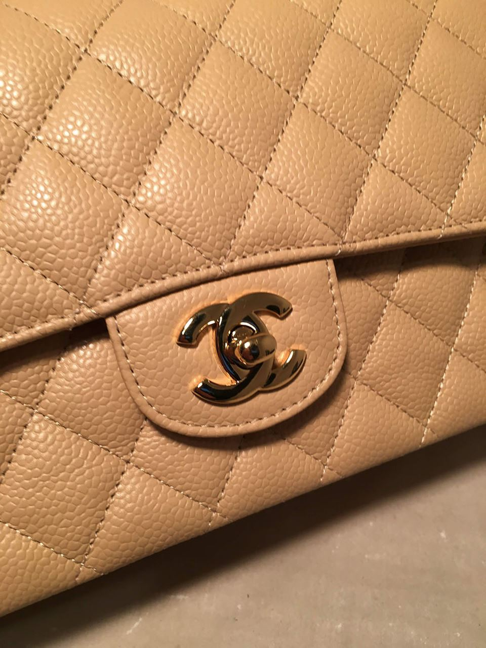 c1a0b940cfd6 ... Image 5 : Chanel Nude 10inch Quilted Caviar 2.55 Double Flap Classic  Shoulder Bag ...