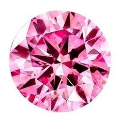 4ct Round Pink Brilliant Cut BIANCO Diamond