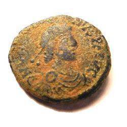 Bronze Coin of Gratian: 367-383 A.D.