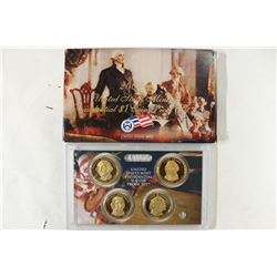 2007 US PRESIDENTIAL DOLLAR COIN PROOF SET WITHBOX