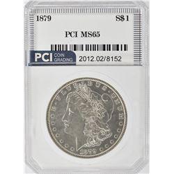 1879 MORGAN DOLLAR  PCI GEM BU