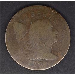 1796 LIBERTY CAP LARGE CENT  GOOD