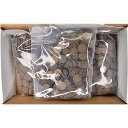 2500-MIXED DATE CIRC LINCOLN WHEAT CENTS