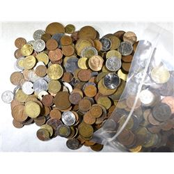 20-POUNDS WELL MIXED FOREIGN COINS