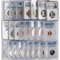 COLLECTOR LOT - 1990-S PCGS DCAM: