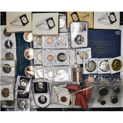 HUGE COLLECTOR LOT:  UNCIRCULATED & PROOF CENTS,