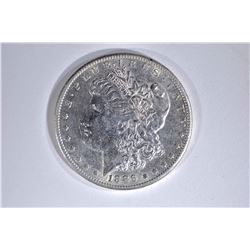 1886-S MORGAN DOLLAR  AU/UNC