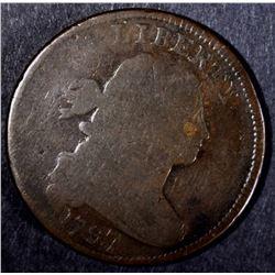 1797 LARGE CENT, G/VG