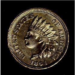 1864 CN INDIAN CENT, , CH BU