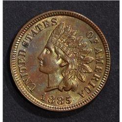 1885 INDIAN CENT, CH BU
