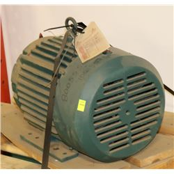 RELIANCE ELECTRIC EX PHASE 3 ELECTRIC  MOTOR,7.5HP