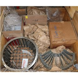 PALLET OF FLOWSERVE COUPLINGS, PUMP PARTS &