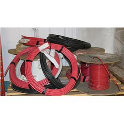 PALLET OF ASSORTED ELECTRICAL CABLE