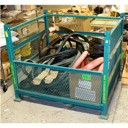 METAL SHIPPING CRATE 48W X 40D X 40T