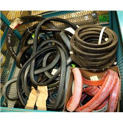 LARGE GROUP OF RUBBER LINER SEALS