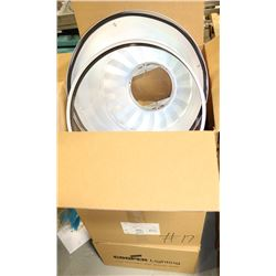 3 BOXES OF COOPER LIGHTING LUMINAIRE CASE &