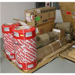 LARGE PALLET OF ASSORTED ROXUL PIPE INSULATION