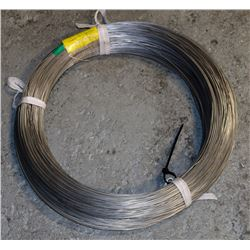 ROLL OF METAL WIRE, GRADE 304, SIZE 0.0475 INCH