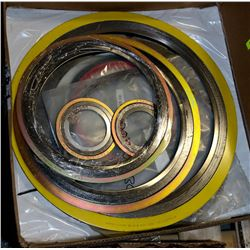 BOX OF ASSORTED GASKETS