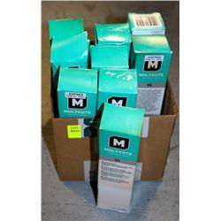 LOT OF 9 MOLYKOTE 55 O-RING GREASE, 150G PER BOX