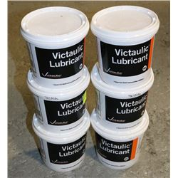 LOT OF 5 TUBS OF VICTAULIC LUBRICANT,