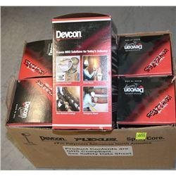 CASE OF 6 DEVCON PLASTIC STEEL PUTTY, #10110