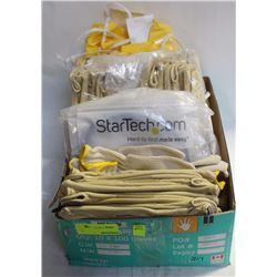 FLAT W/ ASSORTED GLOVES, APRONS & CAT5E UTP PATCH