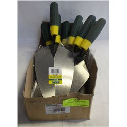 FLAT OF 10 RICHARD BRICK & POINTING TROWEL