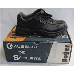 NEW ROYER MENS SAFETY WORK SHOE - SIZE 6.5