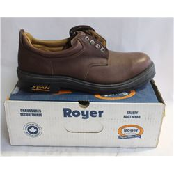 NEW ROYER MENS SAFETY WORK SHOE - SIZE 14