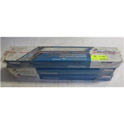 3 BOXES OF BLUESHIELD COVERED ELECTRODES