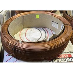 FULL ROLL OF LINCOLN ELECTRIC COILED WELDING