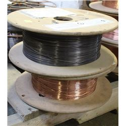 2 ASSORTED ROLLS OF AIR LIQUIDE COILED WELDING