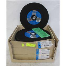 "CASE OF NEW 12"" TYROLIT STEEL CUTOFF DISCS"