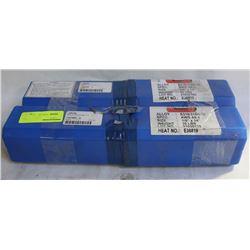 "2 CASES OF LINDE WELDING ROD ELECTRODES 1/8"" X 14"""