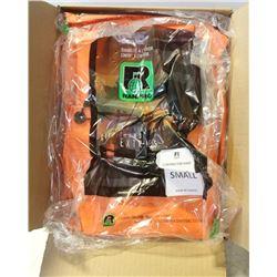 CASE OF 5 NEW RANPRO HI-VIZ CONTRACTOR RAIN PANTS