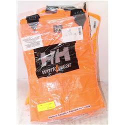 2 NEW HH HI-VIZ TOP DECK BIB PANTS, 4XL